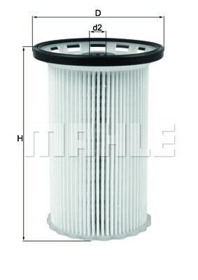 Фильтр топливный Mahle KX342KX342
