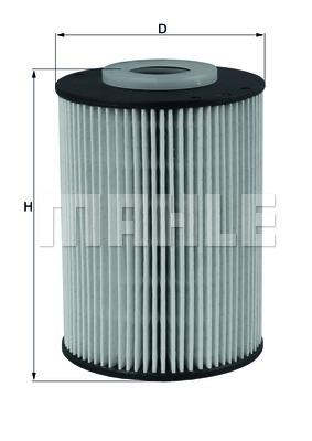 Фильтр топливный Mahle KX393DKX393D