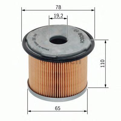 Фильтр топливный Bosch F026402007F026402007