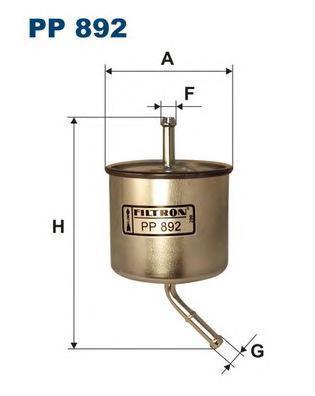 Фильтр топливный Filtron PP892PP892
