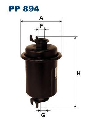 Фильтр топливный Filtron PP894PP894