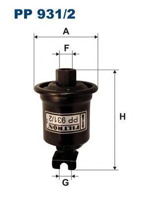 Фильтр топливный Filtron PP931/2PP931/2