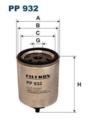Фильтр топливный Filtron PP932PP932