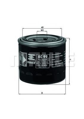 Фильтр топливный Mahle KC99KC99