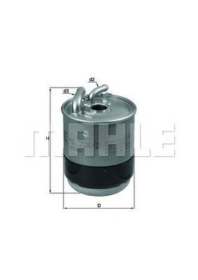 Фильтр топливный Mahle KL228/2DKL228/2D