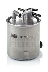 Фильтр топливный Mann-Filter WK920/6WK920/6