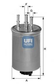 Фильтр топливный дизель UFI 24.445.0024.445.00