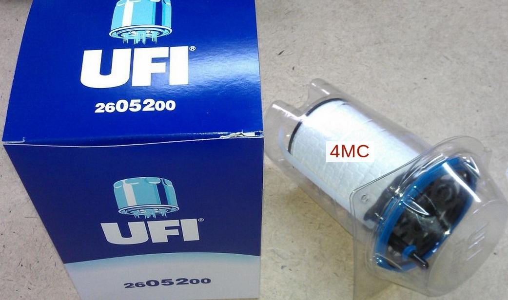 Фильтр топливный дизель UFI 26.052.0026.052.00