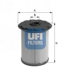 Фильтр топливный дизель UFI 26.696.0026.696.00