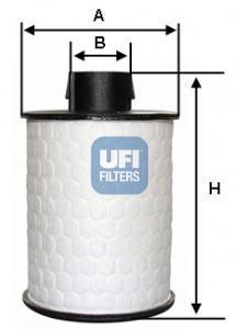 Фильтр топливный дизель UFI 60.H2O.0060.H2O.00