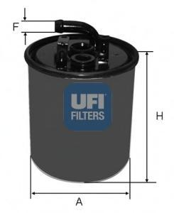 Фильтр топливный дизель UFI 24.416.0024.416.00