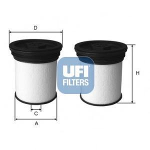 Фильтр топливный дизель UFI 26.047.0026.047.00