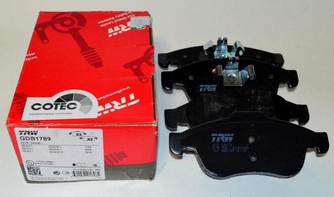 Колодки тормозные дисковые TRW/Lucas GDB3332GDB3332