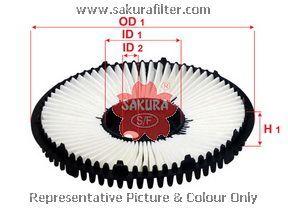 Фильтр воздушный Sakura A1043A1043