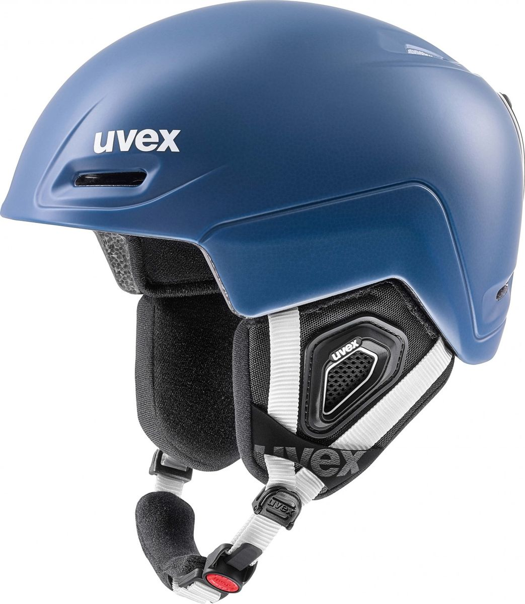 Шлем горнолыжный Uvex  Jimm Helmet , цвет: синий матовый. Размер S - Горные лыжи