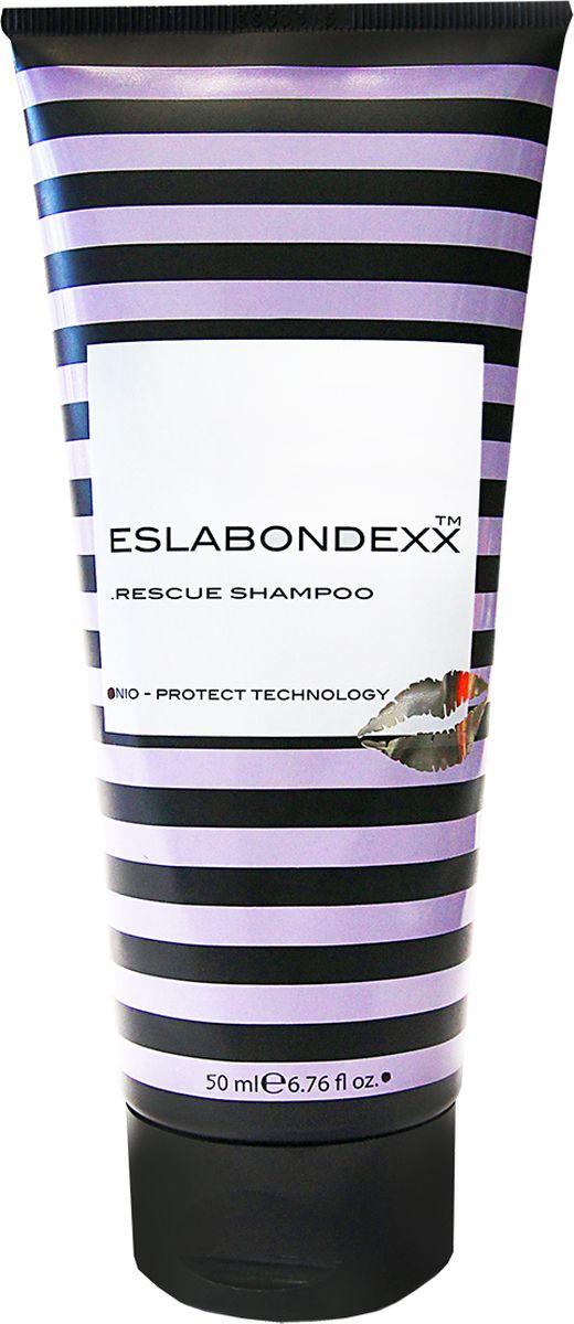 Eslabondexx Шампунь реконструктор, 50 млESLKMSSH50Шампунь-реконструктор с уникальной технологией NIO-PROTECT TECHNOLOGY: • Возвращает волосам эластичность и прочность • Предотвращает вымывание питательных веществ • Сохраняет цвет окрашенных
