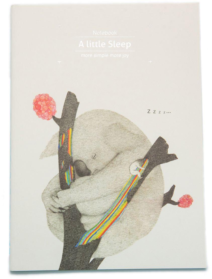 Еж-стайл Тетрадь A Little Sleep Коала в линейку 38 листов0101411