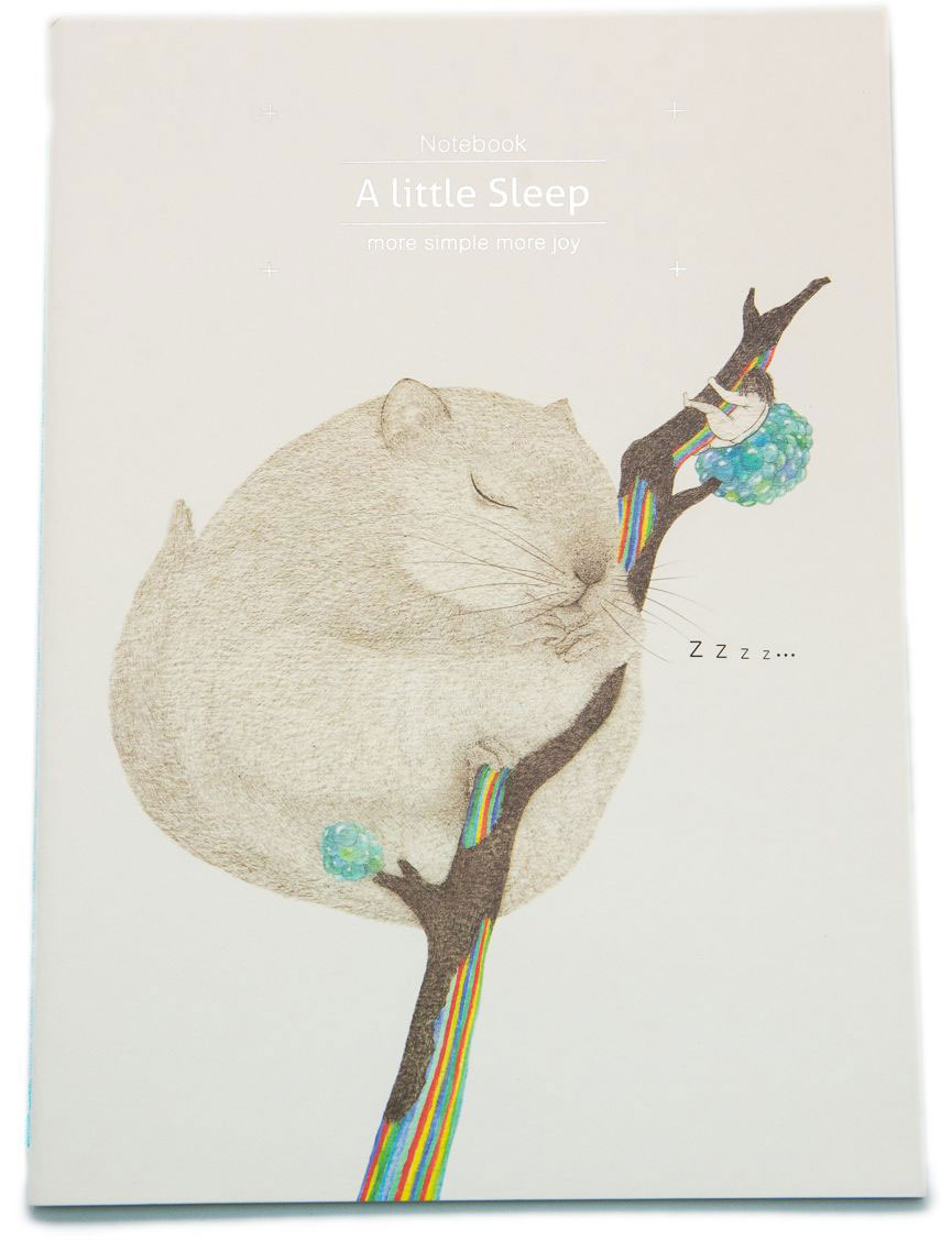 Еж-стайл Тетрадь A Little Sleep Соня в линейку 38 листов0101412