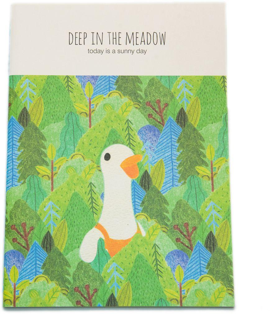 Еж-стайл Тетрадь Deep In The Meadow Гусь в линейку 38 листов0101431