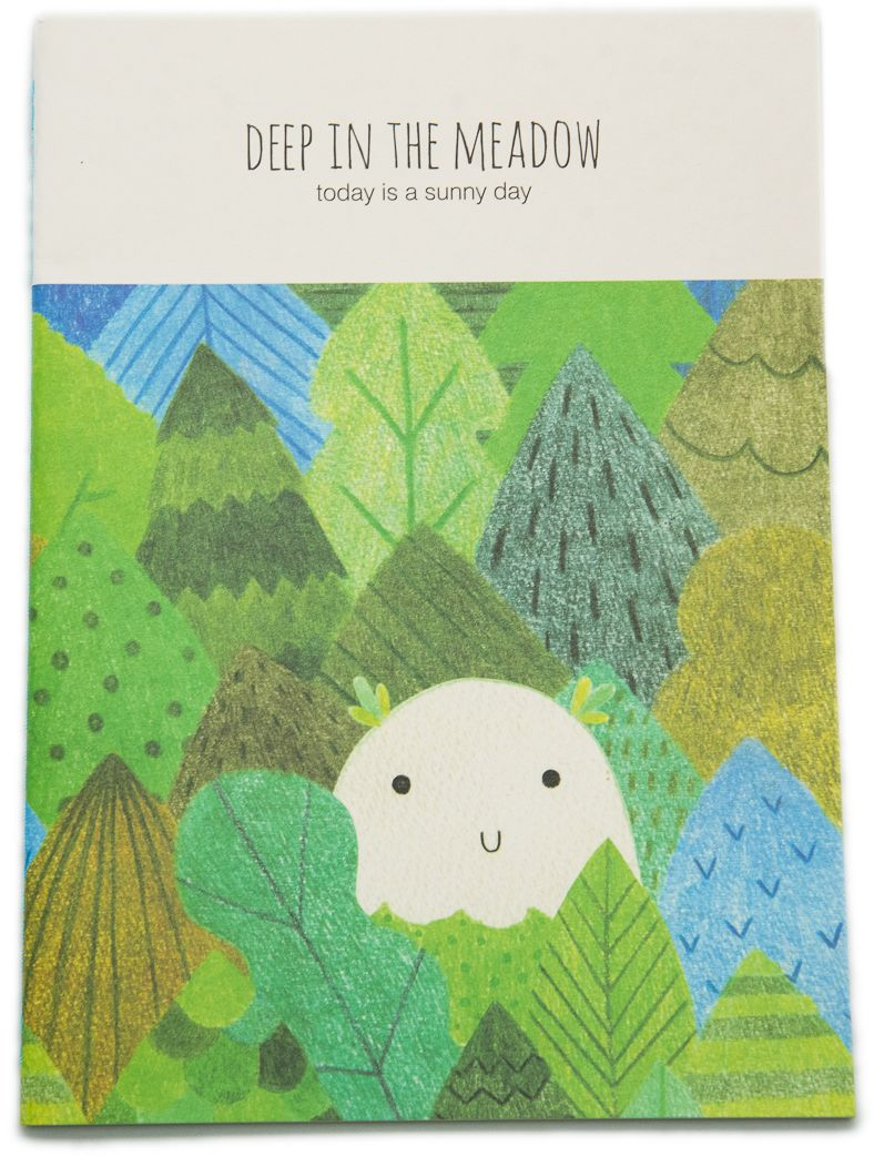 Еж-стайл Тетрадь Deep In The Meadow Кто? в линейку 38 листов0101432