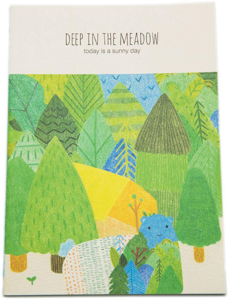 Еж-стайл Тетрадь Deep In The Meadow Ого! в линейку 38 листов еж стайл тетрадь they are classic полоска a5 44 листа в линейку