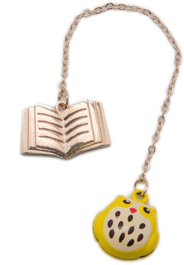 Еж-стайл Закладка Совушка цвет желтый
