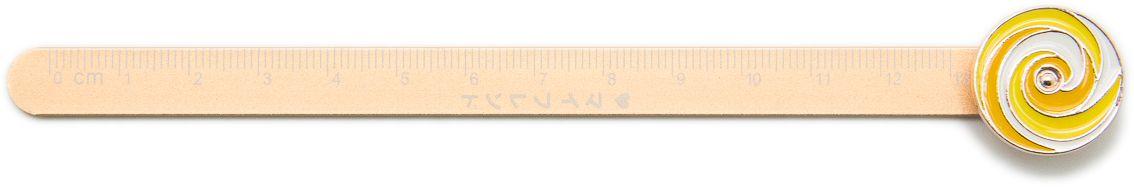 Еж-стайл Линейка Гипнокруг цвет бежевый 18,5 см0909073