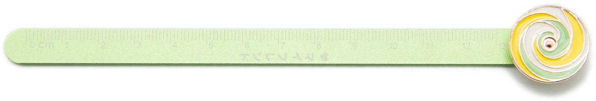 Еж-стайл Линейка Гипнокруг цвет мятный 18,5 см0909076Забавная линейка Еж-стайл с изображением гипнотического круга выполнена из алюминия. Линейка - необходимый инструмент рабочего стола. Возможности применения этого приспособления широки: оно пригодится как на занятиях в учебном заведении, так и при выполнении работы дома, а также поспособствует развитию начальных навыков черчения!