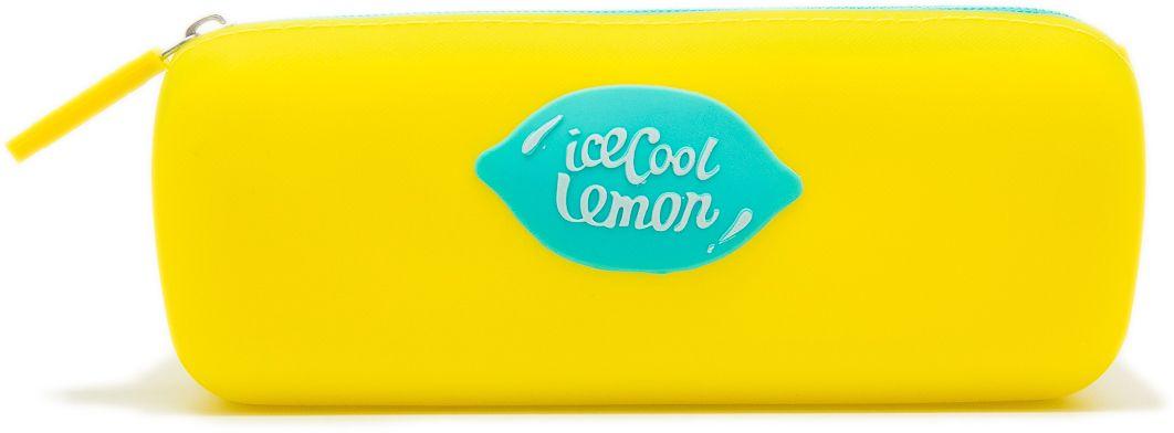 Еж-стайл Пенал Cool Lemon цвет желтый0909144Пенал Еж-стайл, выполненный из силикона, станет незаменимым аксессуаром, как для детей, так и для взрослых. Модель отлично подойдет для хранения различных принадлежностей. В верхней части пенала расположена застежка-молния, которая не позволит содержимому потеряться.