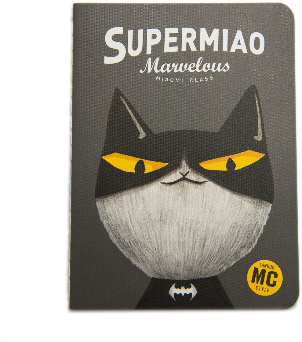 Еж-стайл Блокнот Supermiao 2 Batman в линейку 24 листа0909230