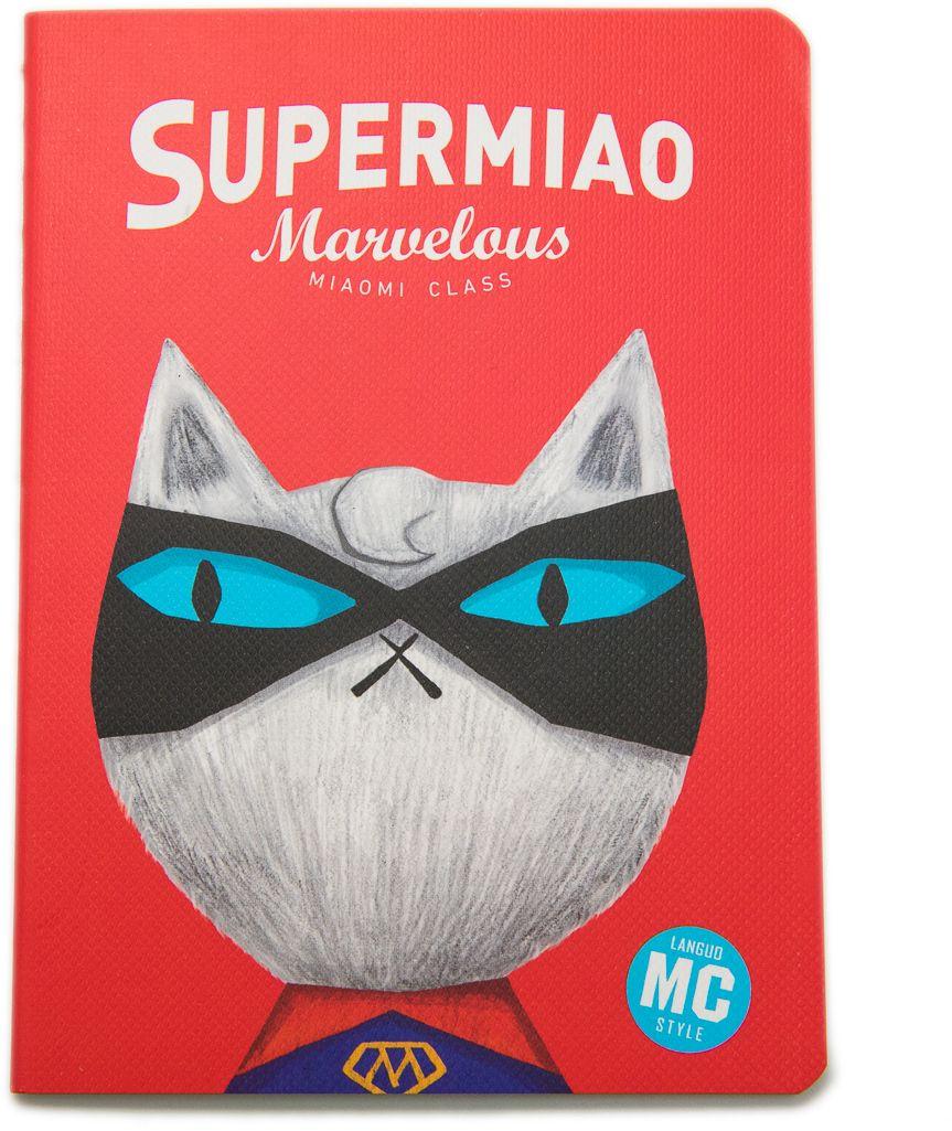 Еж-стайл Блокнот Supermiao 2 Superman в линейку 24 листа еж стайл тетрадь they are classic полоска a5 44 листа в линейку