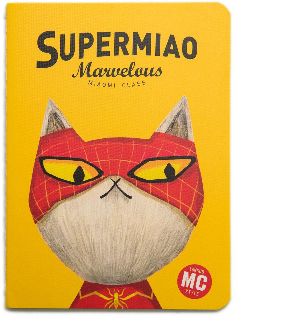 Еж-стайл Блокнот Supermiao 2 SpiderMan в линейку 24 листа0909232