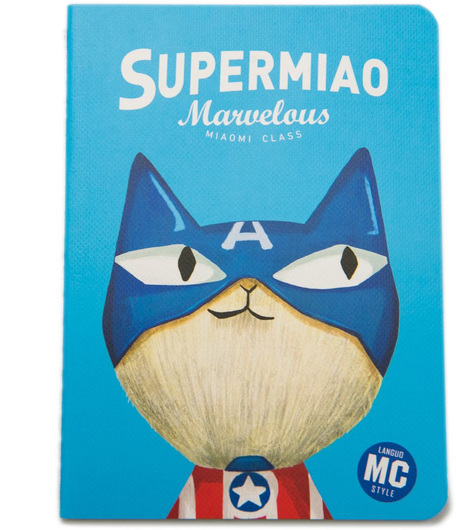 Еж-стайл Блокнот Supermiao 2 Captain в линейку 24 листа0909233