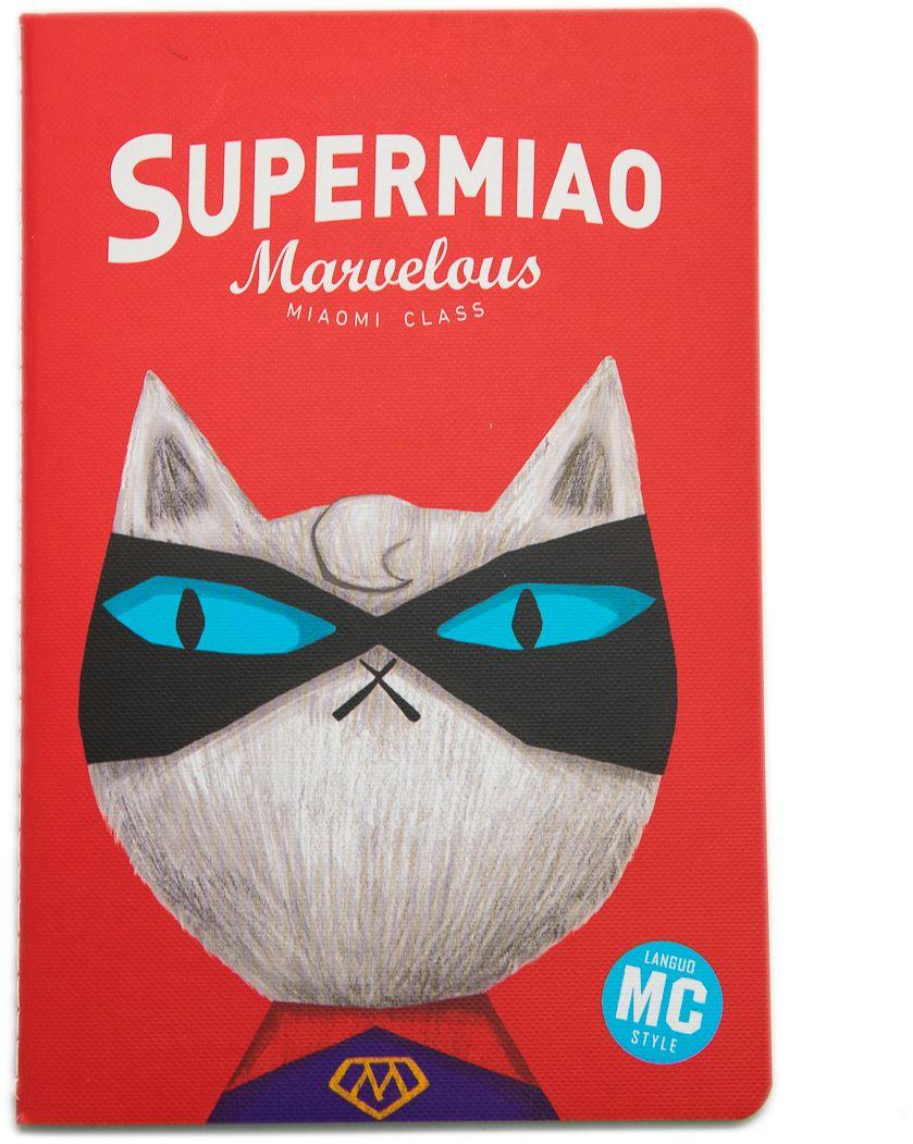 Еж-стайл Тетрадь Supermiao 2 Superman A5 38 листов в линейку еж стайл тетрадь they are classic полоска a5 44 листа в линейку
