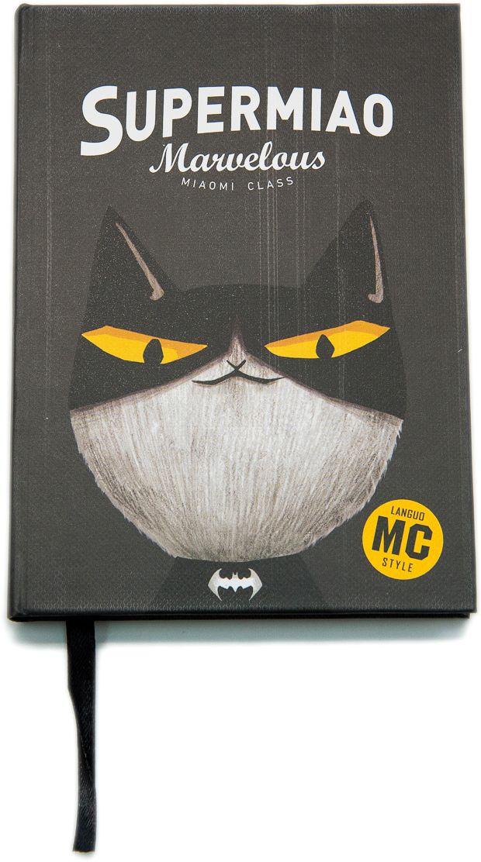Еж-стайл Блокнот Supermiao 2 Batman в линейку 96 листов0909242