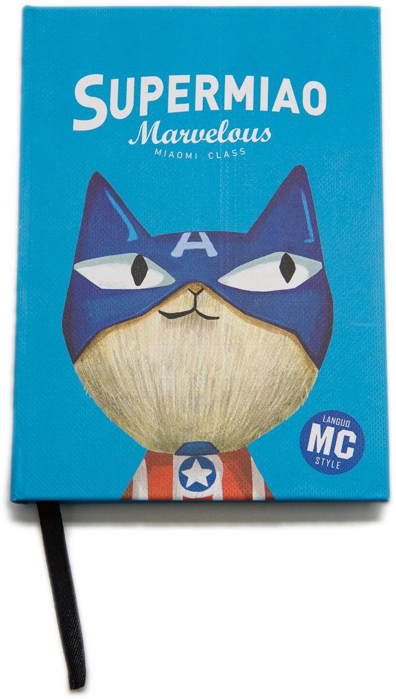Еж-стайл Блокнот Supermiao 2 Captain 96 листов в линейку0909243Блокнот Еж-стайл можно использовать в качестве ежедневника, блокнота для рисования, написания сочинений или важных событий. Обложка выполнена из плотного картона и оформлена изображением супергероя. Внутренний блок состоит из 96 листов в линейку.
