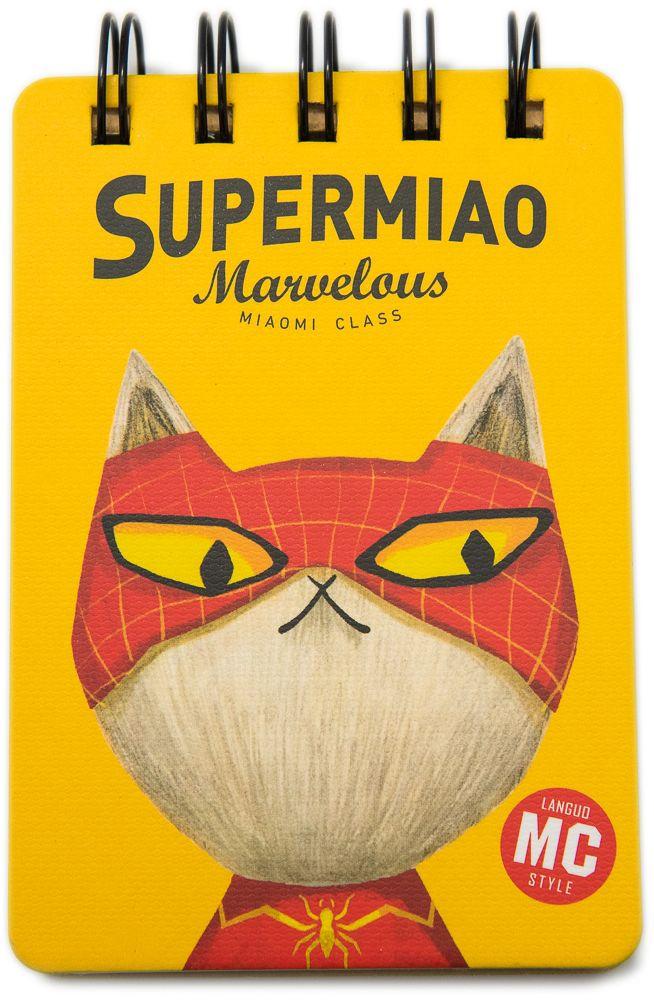 Еж-стайл Блокнот Supermiao 2 SpiderMan в линейку 110 листов0909247
