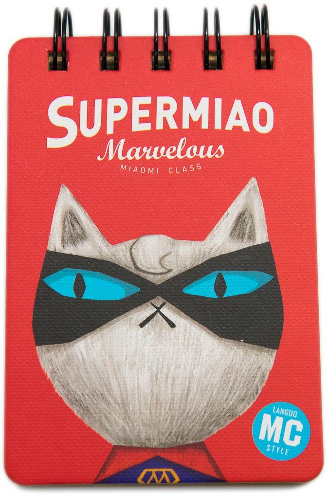 Еж-стайл Блокнот Supermiao 2 Superman 110 листов в линейку еж стайл тетрадь they are classic полоска a5 44 листа в линейку