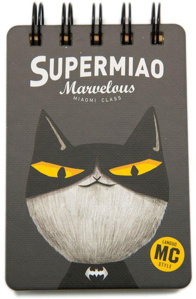 Еж-стайл Блокнот Supermiao 2 Batman в линейку 110 листов0909249