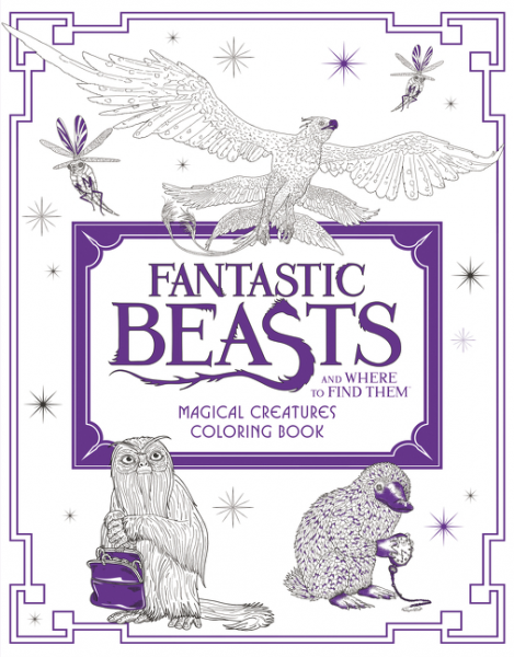 Fantastic Beasts and Where to Find Them: Magical Creatures Coloring Book ken blanchard full steam ahead unleash the power of vision in your work and your life