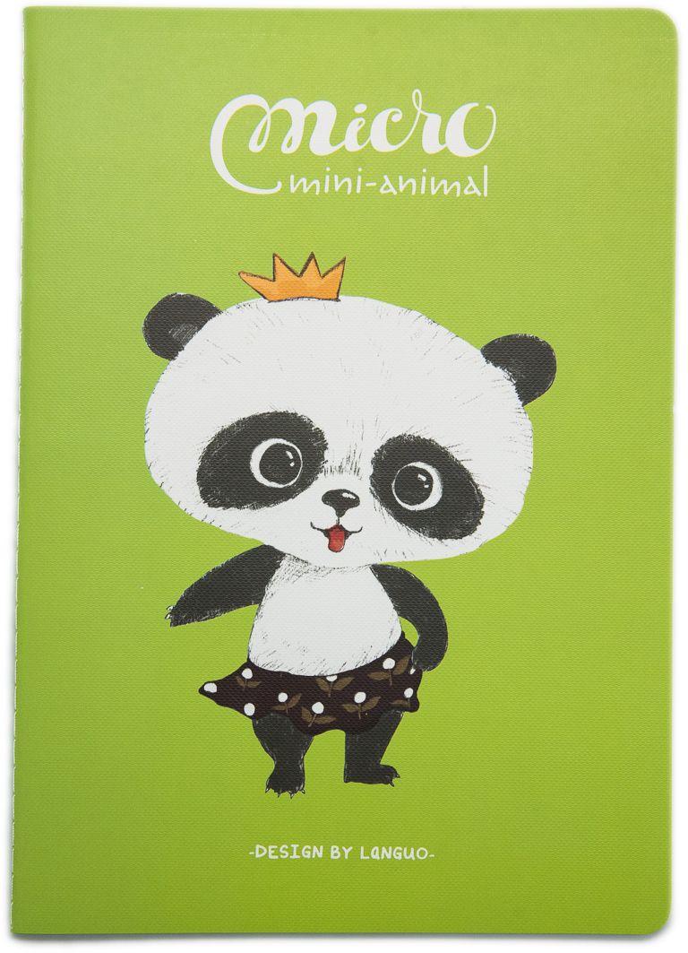 Еж-стайл Тетрадь Mini Animal Панда A5 в линейку 44 листа0909265