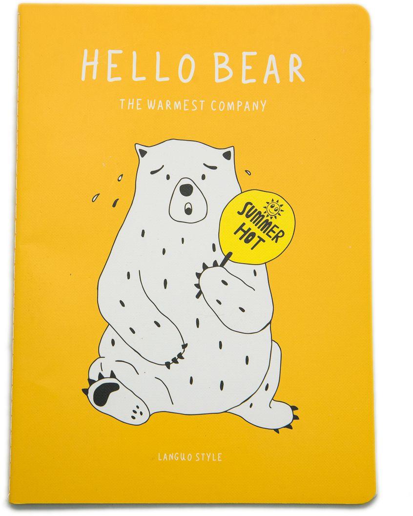 Еж-стайл Тетрадь Hello Bear Ketchup 44 листа в линейку0909269Тетрадь Еж-стайл подойдет как для учебы, так и для работы. Обложка тетради выполнена из картона и дополнена изображением медведя. Внутренний блок состоит из 44 листов бумаги. Листы тетради сшиты между собой.