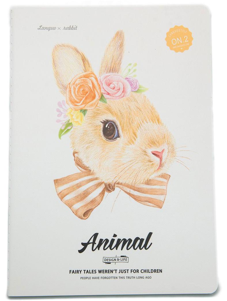 Еж-стайл Тетрадь Animal Rabbit 2 A5 в линейку 44 листа0909270Тетрадь Еж-стайл подойдет как для учебы, так и для работы. Обложка тетради выполнена из картона и дополнена изображением кролика. Внутренний блок состоит из 44 листов бумаги. Листы тетради сшиты между собой.