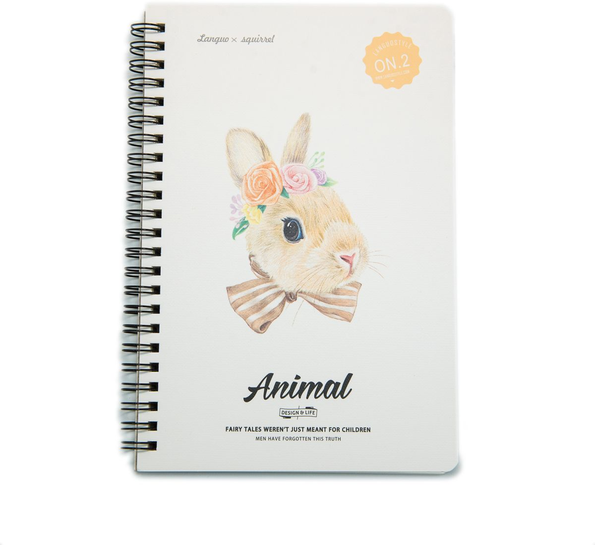 Еж-стайл Тетрадь Animal Rabbit 2 A5 в линейку 68 листов0909277
