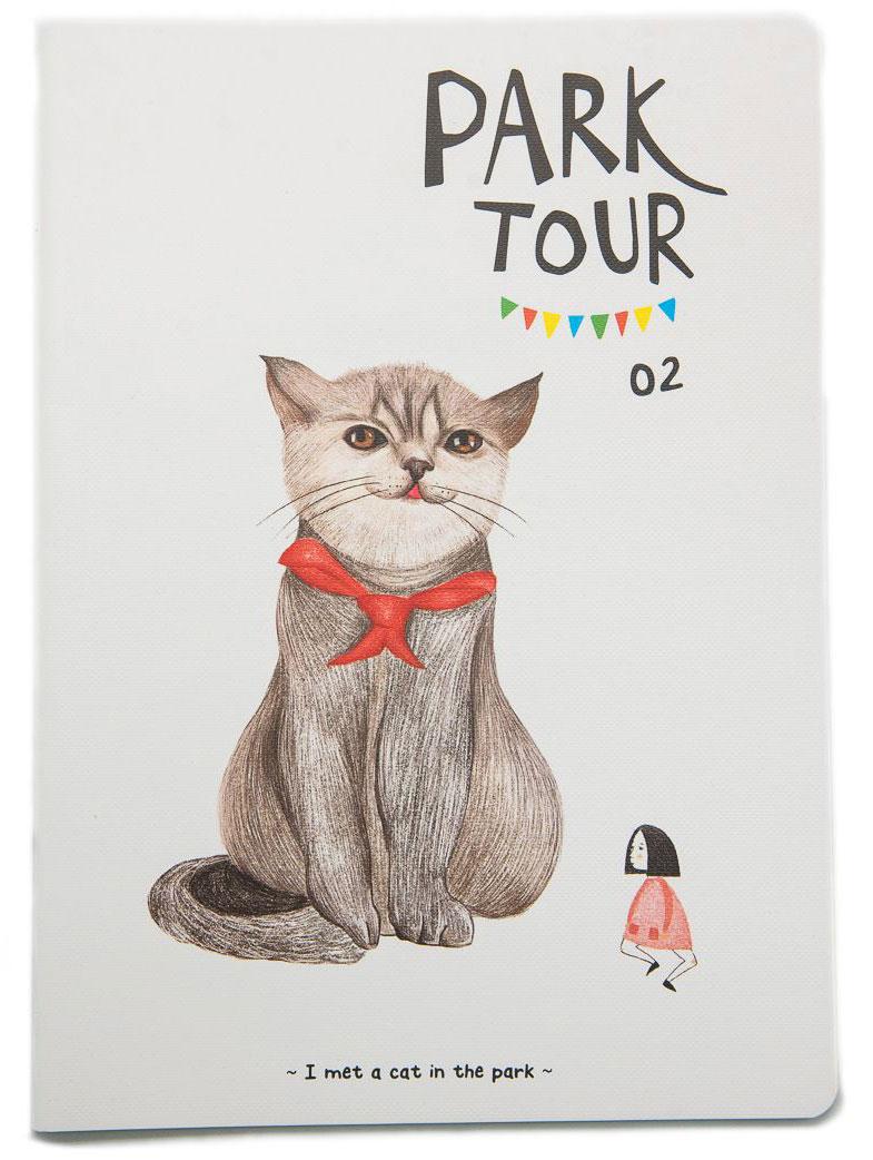 Еж-стайл Тетрадь Park Tour 02 44 листа в линейку еж стайл тетрадь kitten с игрушкой a5 44 листа в линейку