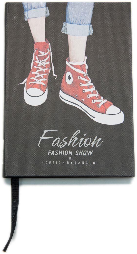 Еж-стайл Блокнот Fashion Show Кеды в линейку 96 листов0909331
