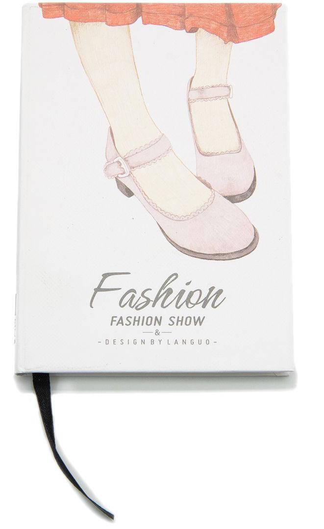 Еж-стайл Блокнот Fashion Show Туфли в линейку 96 листов еж стайл тетрадь they are classic полоска a5 44 листа в линейку