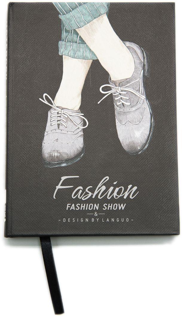 Еж-стайл Блокнот Fashion Show Ботинки в линейку 96 листов еж стайл тетрадь they are classic полоска a5 44 листа в линейку