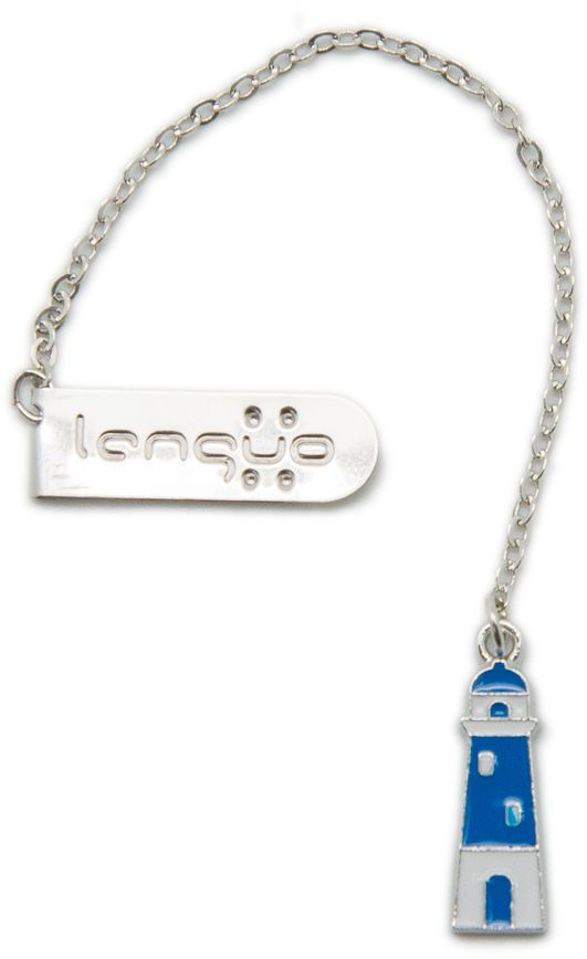 Еж-стайл Закладка Маяк цвет синий белый
