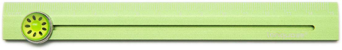 Еж-стайл Линейка Rolling Fruits Kiwi 15,9 см0909348Забавная линейка Еж-стайл с указателем выполнена из алюминия. Линейка - необходимый инструмент рабочего стола. Возможности применения этого приспособления широки: оно пригодится как на занятиях в учебном заведении, так и при выполнении работы дома, а также поспособствует развитию начальных навыков черчения!